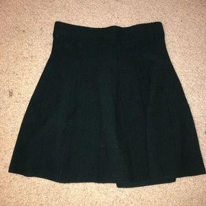 ZARA | Hunter Green Sweater Skirt